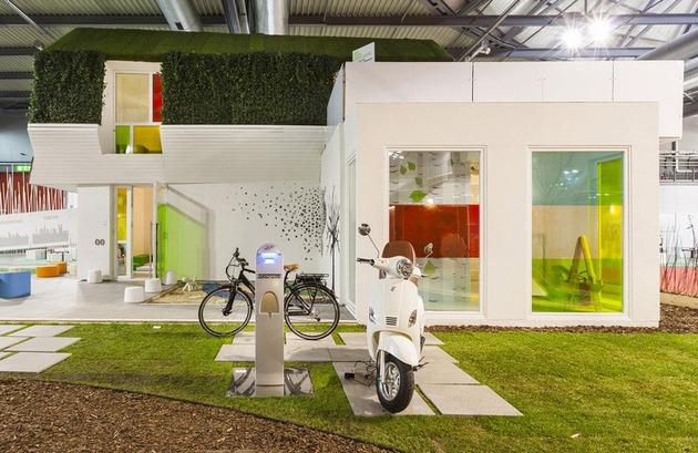 проект зеленого дома