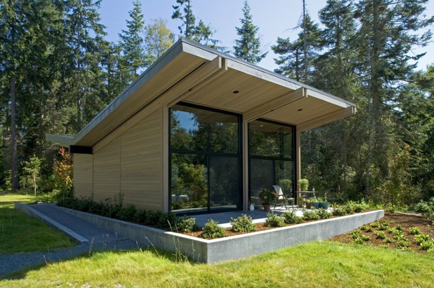Деревянный загородный дом фото 4