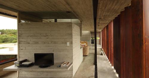 Проект летнего дома - интерьер кухни
