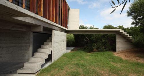 фото летнего дома от BAK Arquitectos