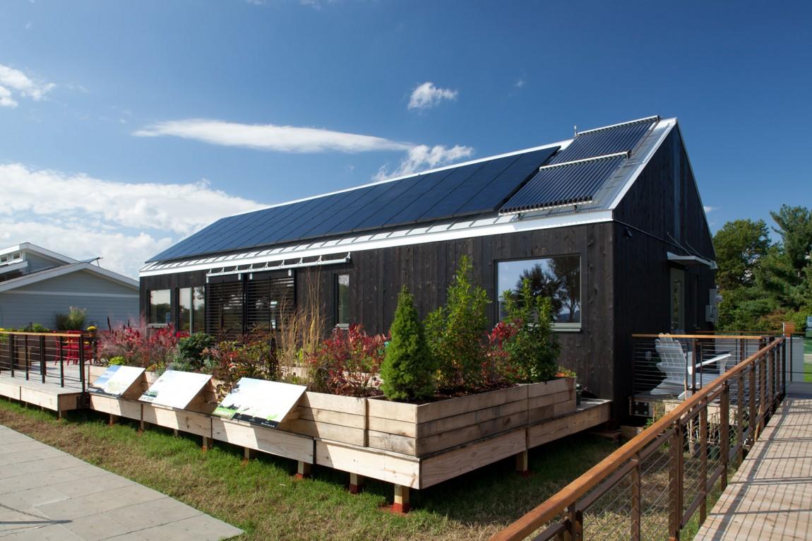Дом с солнечными батареями - фото 7