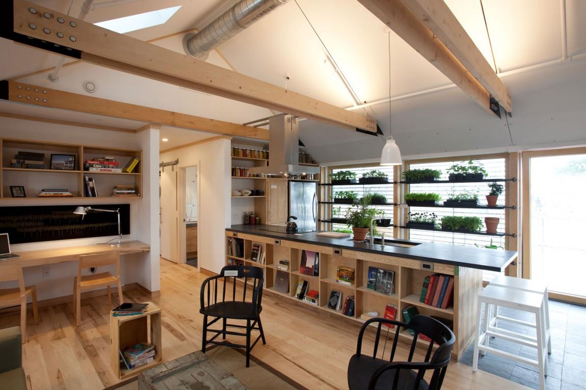 Дом с солнечными батареями - фото 3