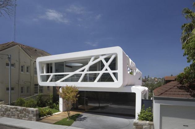 Ультрасовременный дом фото 1