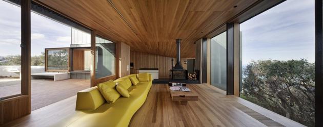 частный домик - гостиная