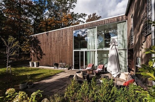 шведский дом для одной семьи