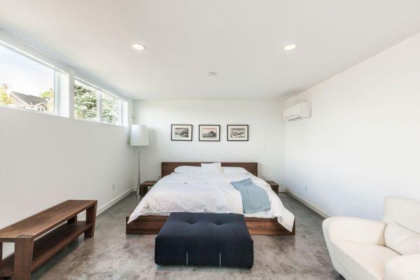 дом для семьи - спальня