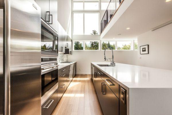 дом для семьи - кухня
