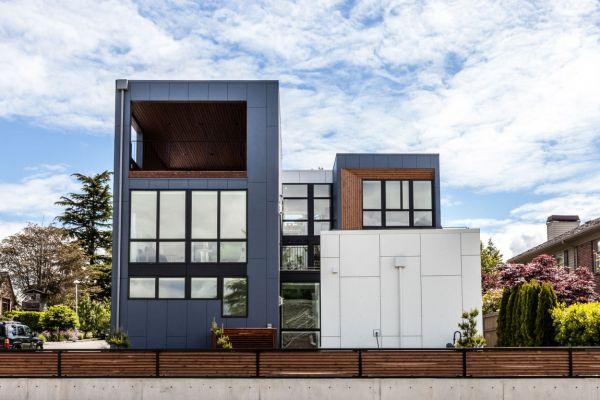 Современный дом для семьи