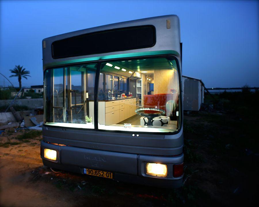 Дома из старых автобусов