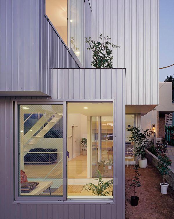 металлический дом проект