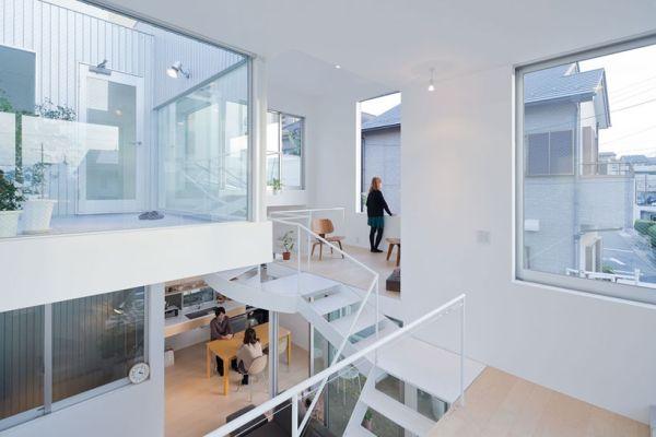 Компактный металлический дом фото
