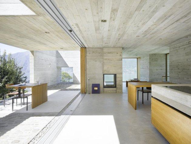 бетонный дом с террасой -8 материалы