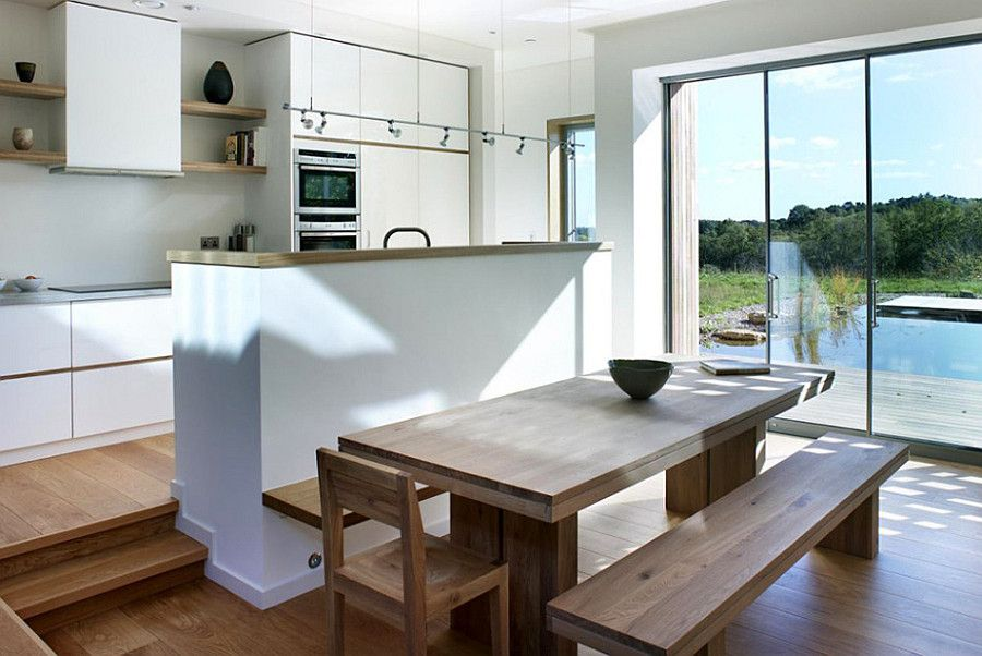 Дом 120 кв м - кухня