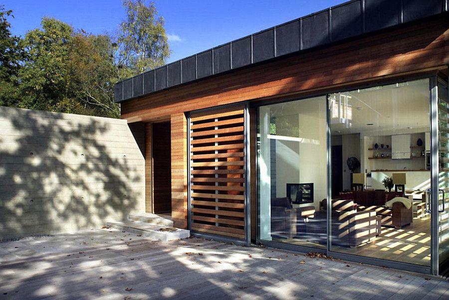 Дом 120 кв м - внутренний двор