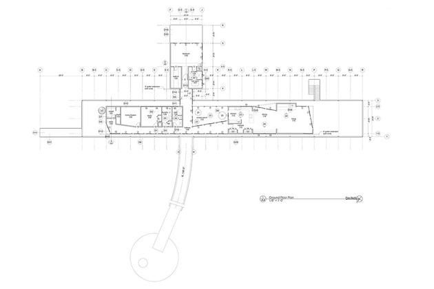 план дома из металлокаркаса