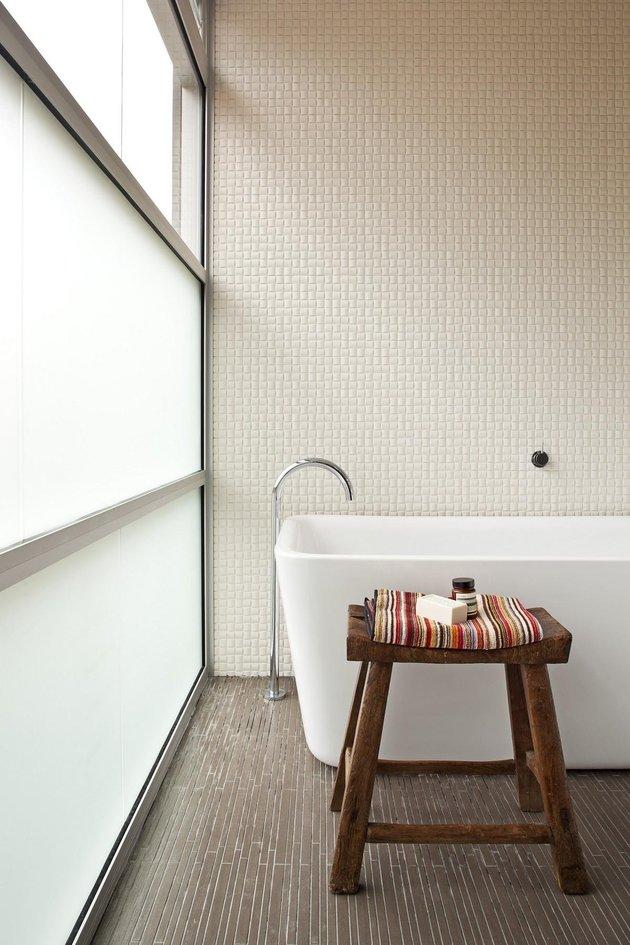 Перестройка дачного дома - ванная
