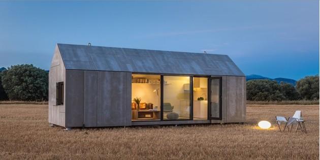 сборный домик по доступной цене - общий вид