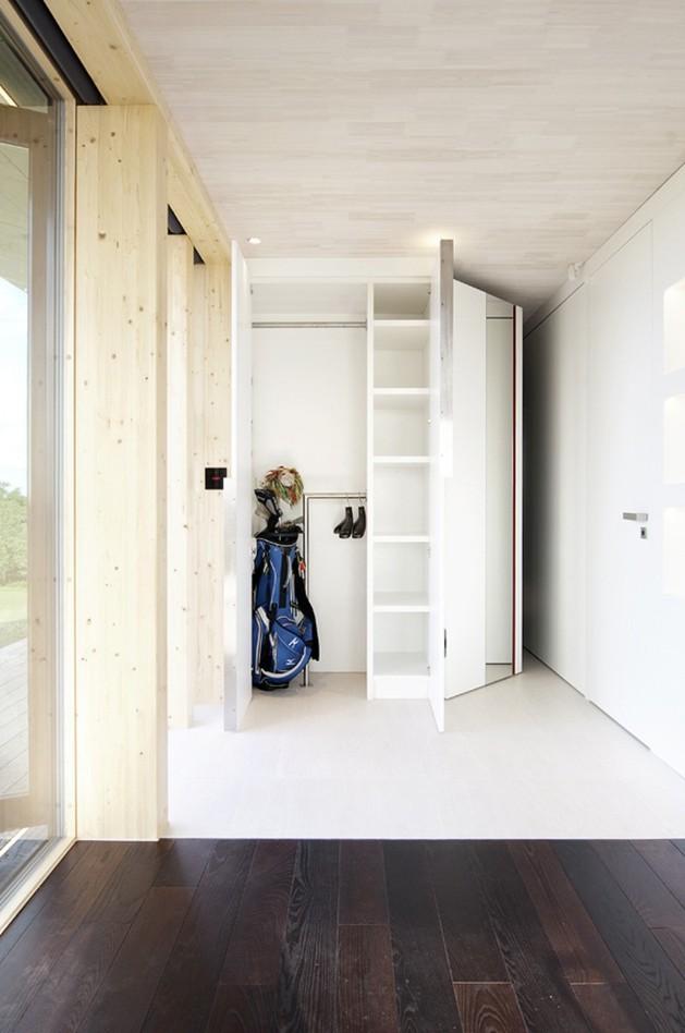 шкафы в каркасном доме