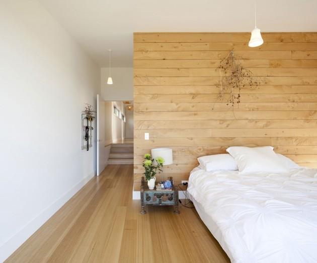 интерьер спальни  проекте загородного дома