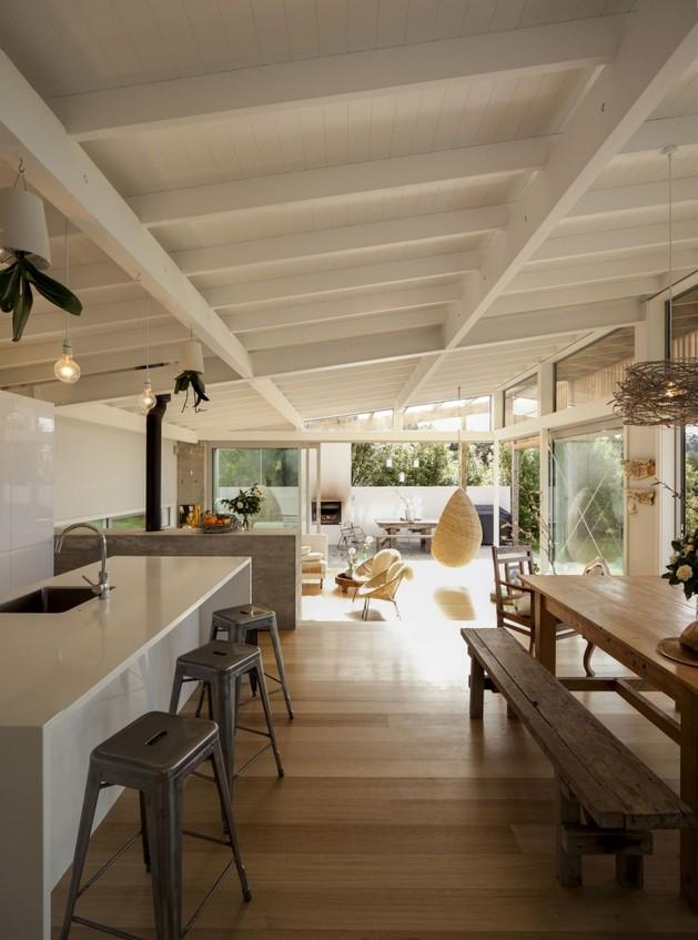 кухня в проекте загородного дома