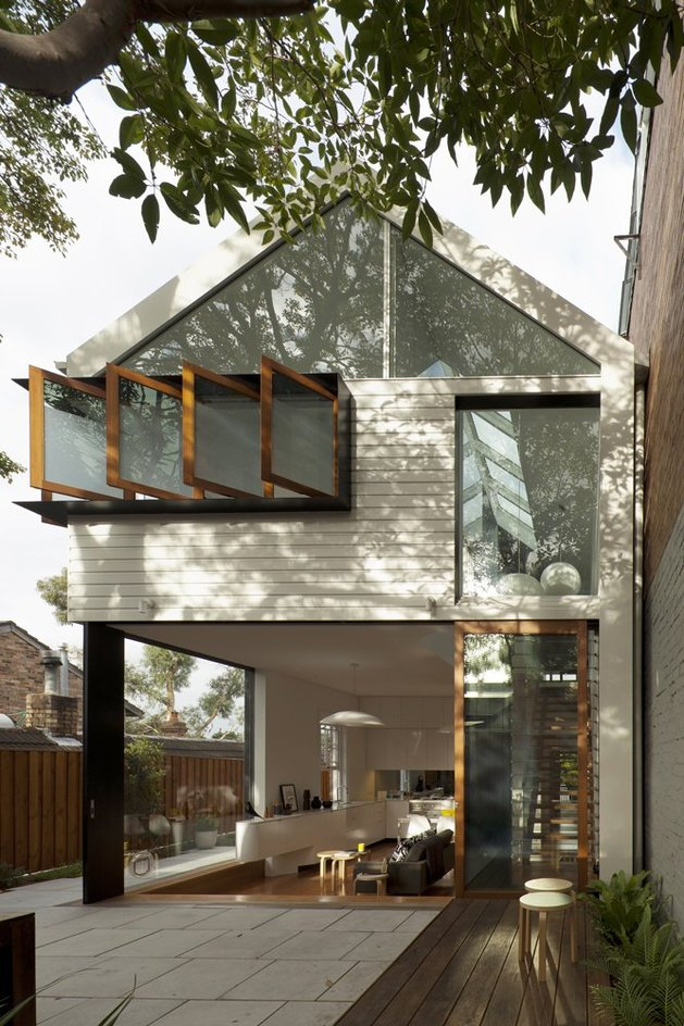 еще одно фото фасада собственного дома