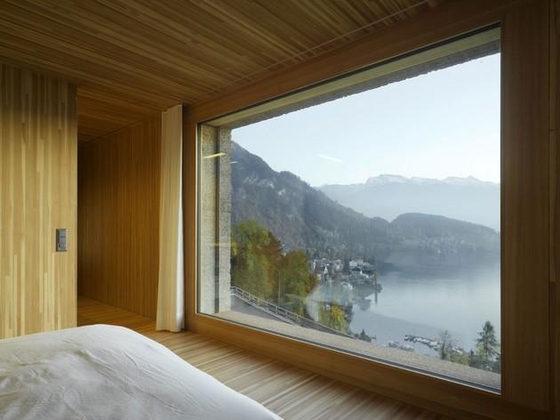 трехэтажный коттедж - спальня