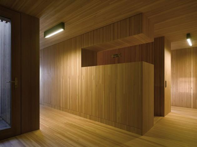 трехэтажный коттедж - фото 4
