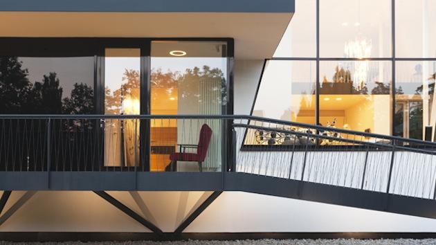 Проект дома 350 кв.м. входная группа