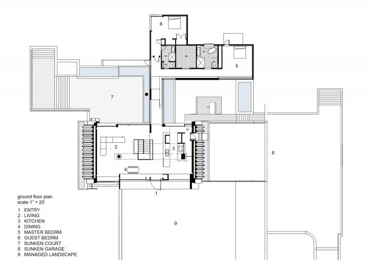 проект дома в индустриальном стиле