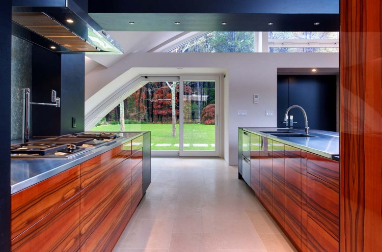 шикарный интерьер кухни