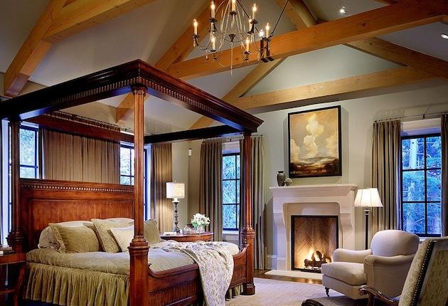 семейная резиденция фото спальни