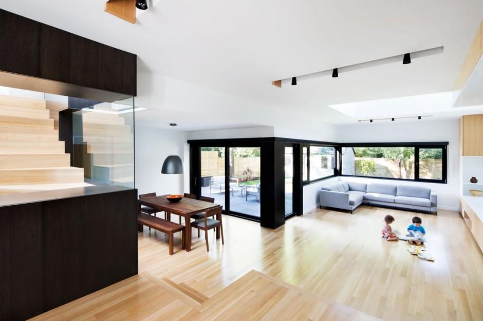 Полная реконструкция бетонного дома интерьер