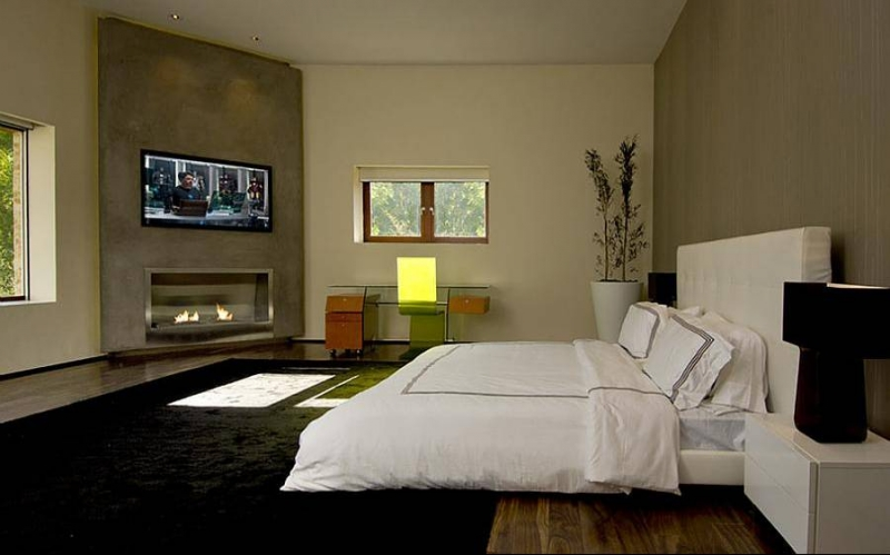 Роскошный особняк холостяка спальня