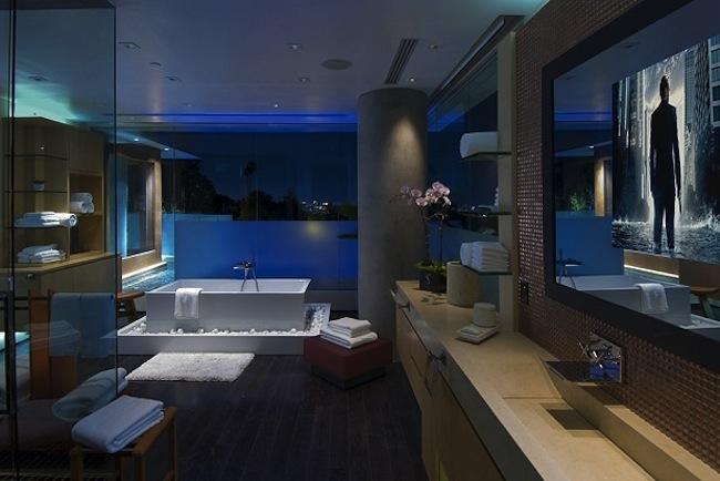 Роскошный особняк холостяка интерьер ванной
