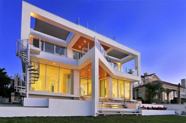 Современный дизайн частного дома во Флориде