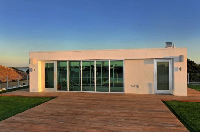Современный дизайн частного дома - крыша