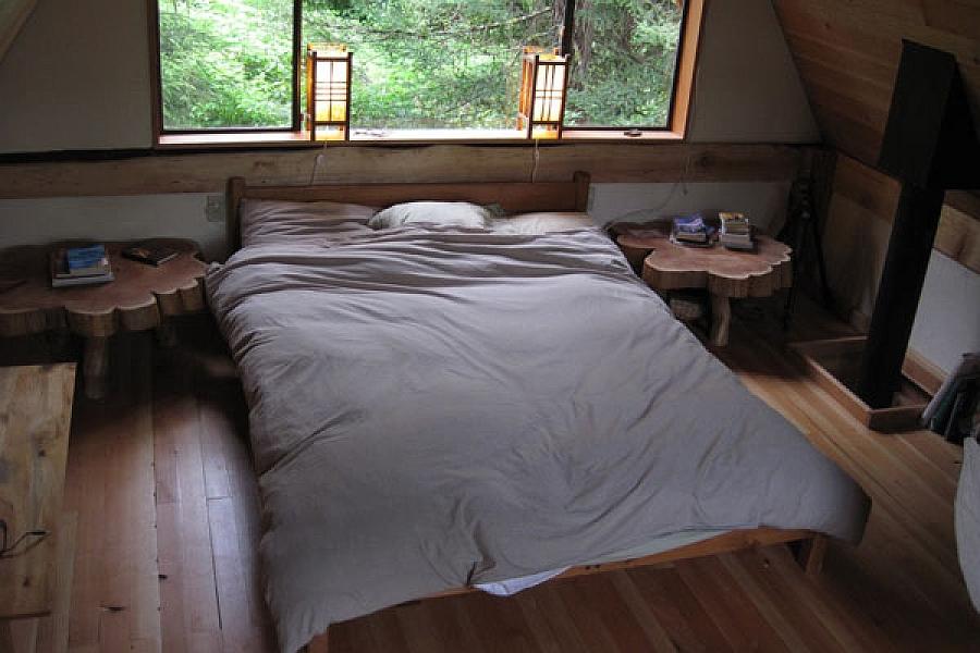 Восхитительный дачный домик фото спальни