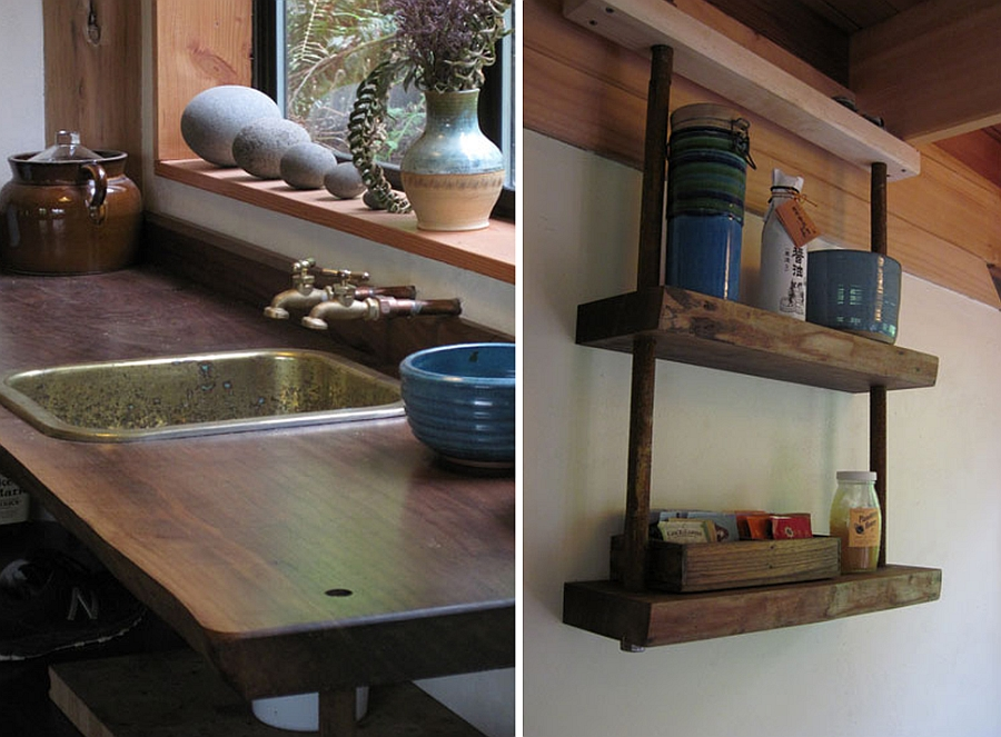 Восхитительный дачный домик фото кухни
