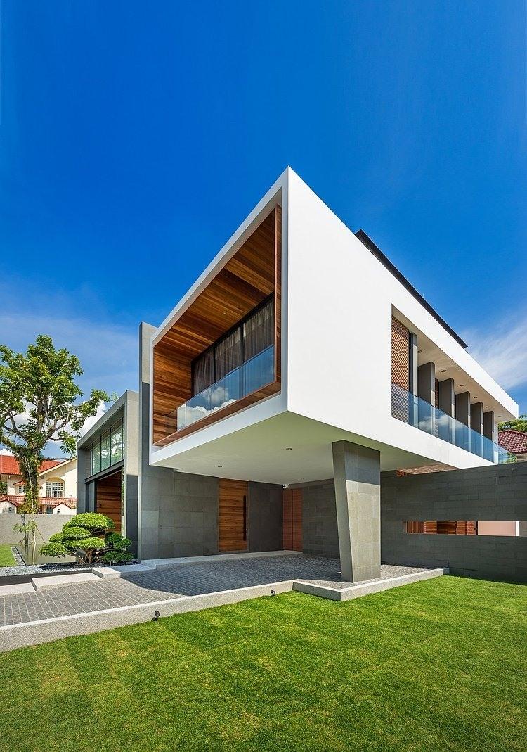 двухэтажный особняк
