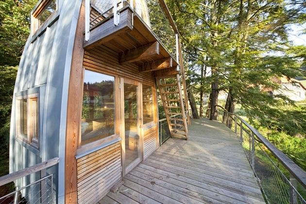 лесной домик фото 4