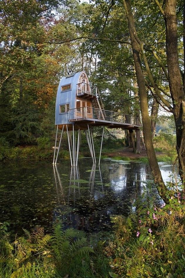 лесной домик фото 2