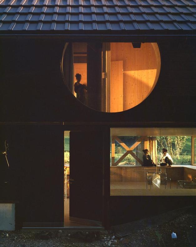 фасад деревянного дома 2