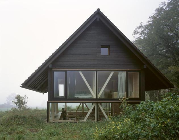 Остекление деревянного дома 2
