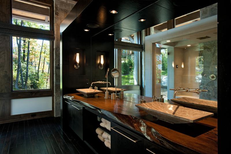 Двухэтажный домик - ванная