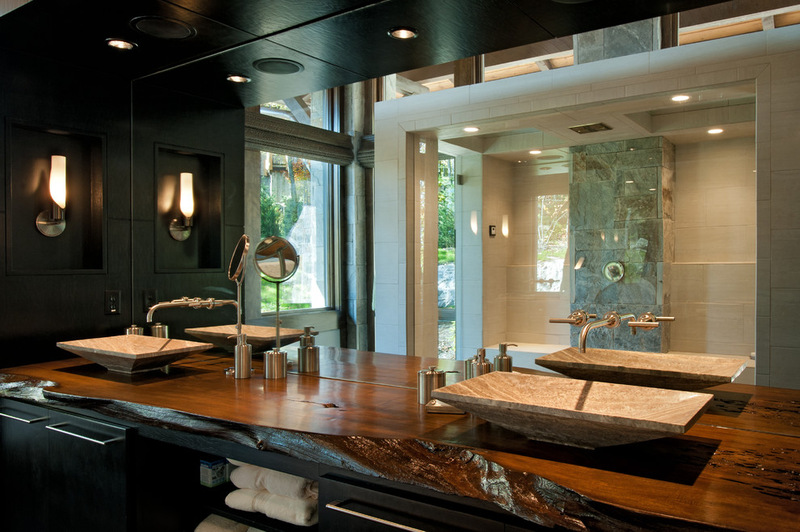 Двухэтажный домик - ванная комната
