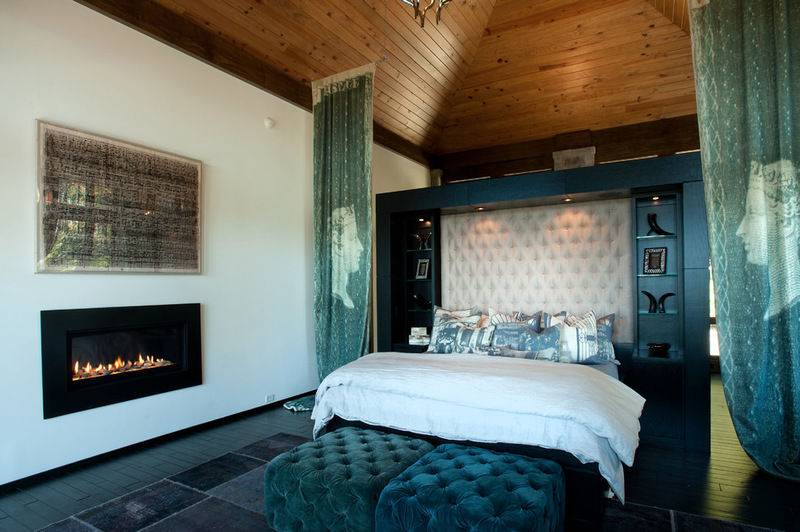 Двухэтажный домик - спальня