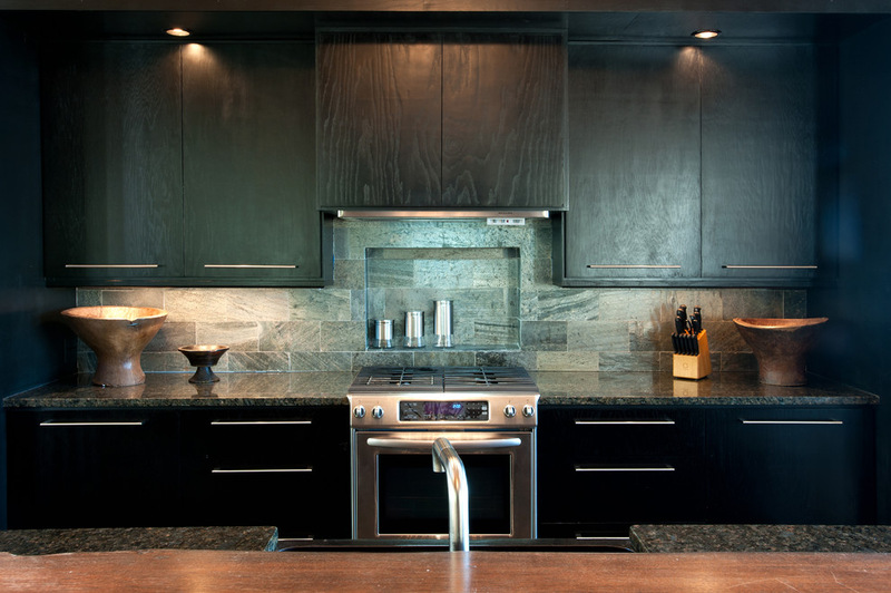 Двухэтажный домик - кухня