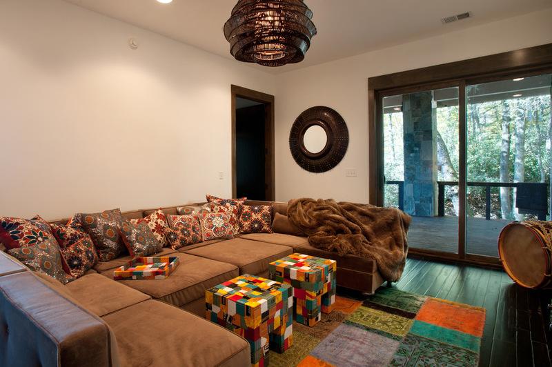 Двухэтажный домик - комната