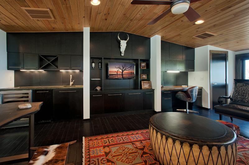 Двухэтажный домик - интерьер