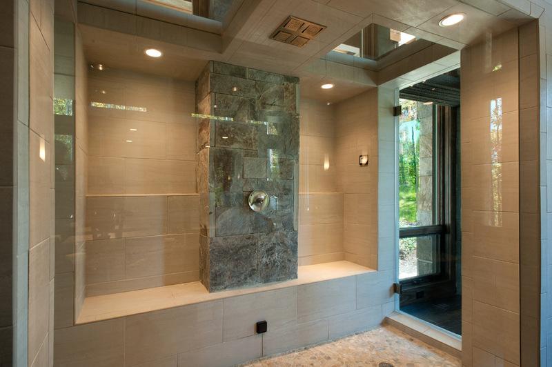 Двухэтажный домик - ванна